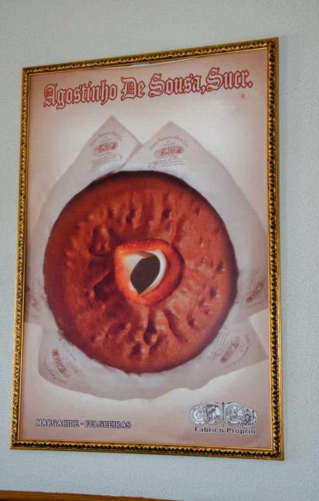 Pão de Ló de Margaride Agostinho de Sousa, Sucr.